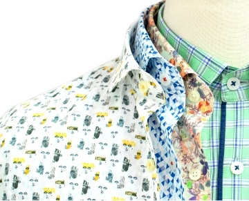 Bombay Shirt Company is a young custom-made shirts brand, redefining the way one thinks about bespoke shirts. Design your own shirt with the help of our experienced stylists at our studio from a collection of more than 600 fabrics to choose from. Solids to prints & checks to stripes for formal, casual or dress shirt, we have it all! Customise from cuff to collar & button to monogram! Designed by you, crafted by us!