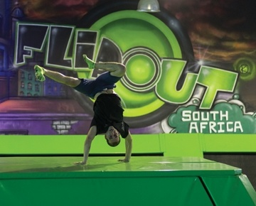 South Africa's brand new global hit, Flip Out is taking the country by storm. It's a flipping fun activity which takes place in an enormous arena containing dozens of interconnected trampolines. Flip Out takes the concept of jumping to new heights, delivering a massive adrenaline rush from a no-gravity experience. Flip Out is contagious and you will never want to leave its walls and floors of trampolining fun. It's also an experience the whole family can enjoy.
